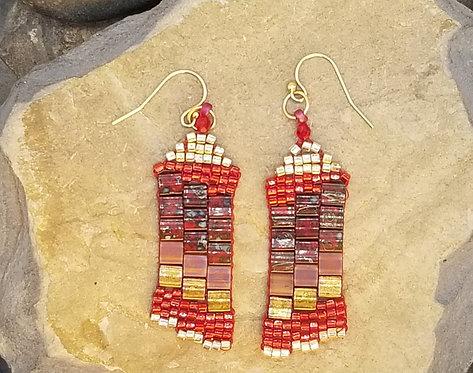 Crimson Short Tiles