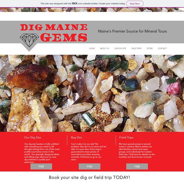 Dig Maine Gems