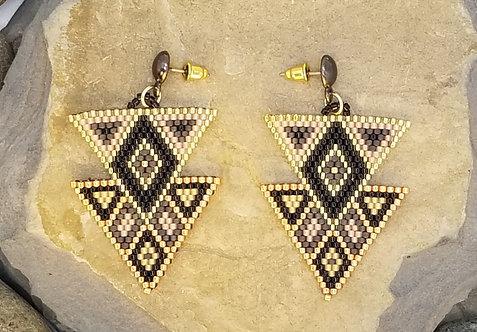 Metallic Twin Triangles