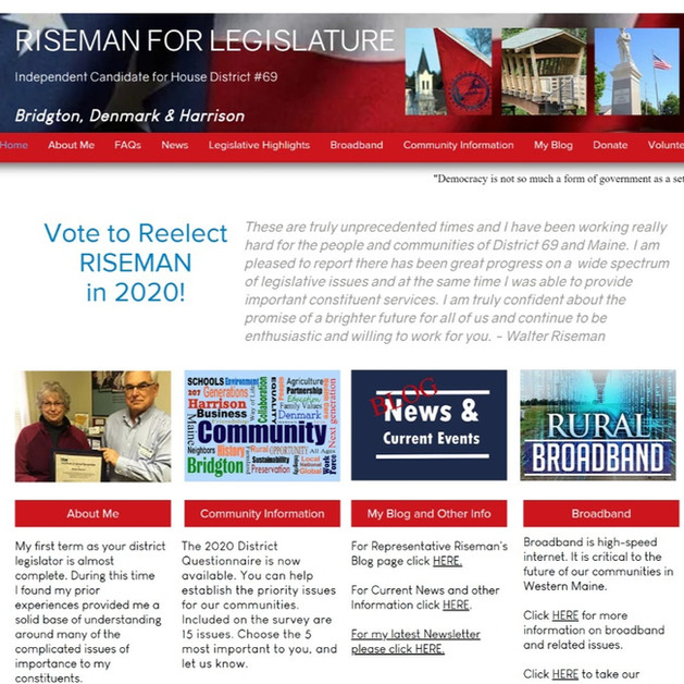 Re-elect Walter Riseman