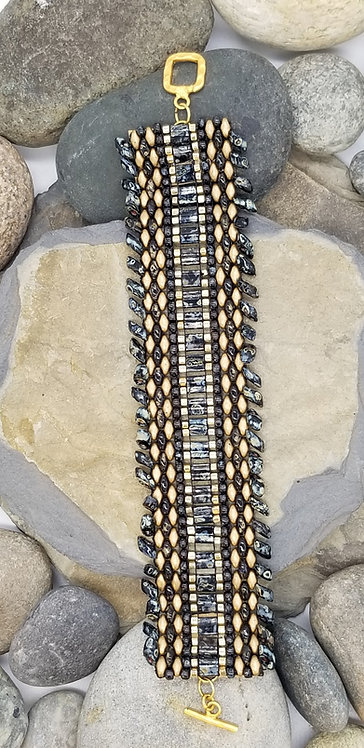 Black Marble Bracelet