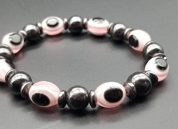 Pink Magnet Bracelet