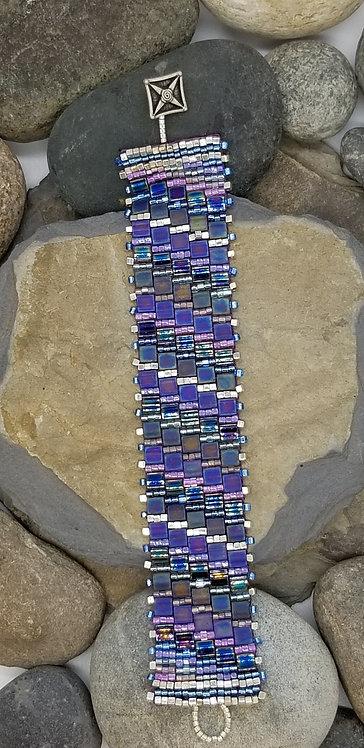 Tiled Violet Bracelet
