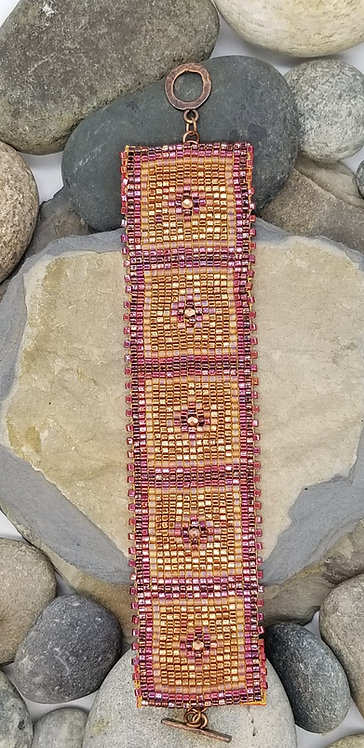 Topaz Sunset Bracelet