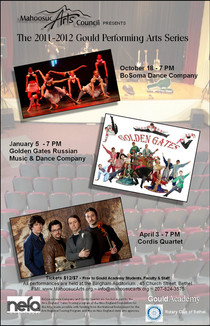 2011-2012 Gould Performing Arts Series P