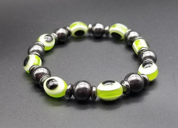 Green Magnet Bracelet