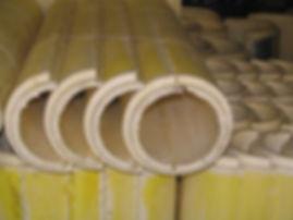 Скорлупа ППУ 219/40 в стеклопластике