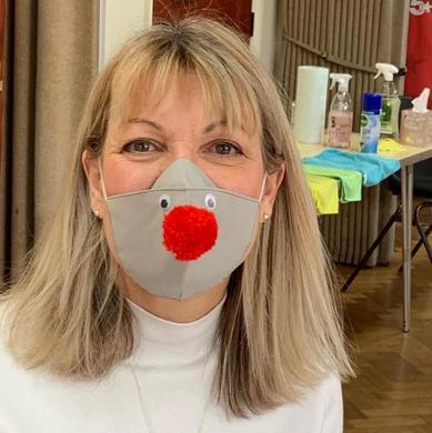 Red Nose Day masks