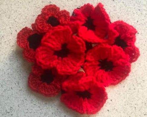 Poppies for The Royal British Legion