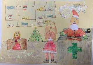 Premiati i nostri piccoli artisti: Beatrice, Ettore, Vittoria e Camilla.