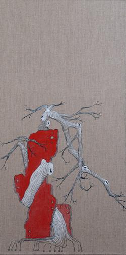 林石 Rock Tree II