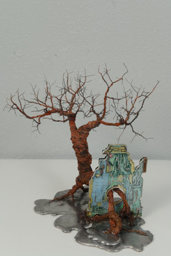 銀泥鐵樹(二) Iron Tree II