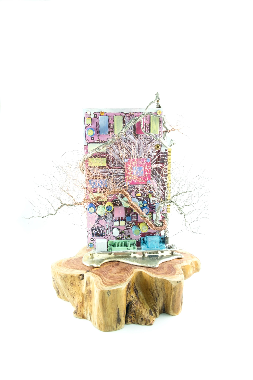 銀泥鐵樹 Iron Tree VII