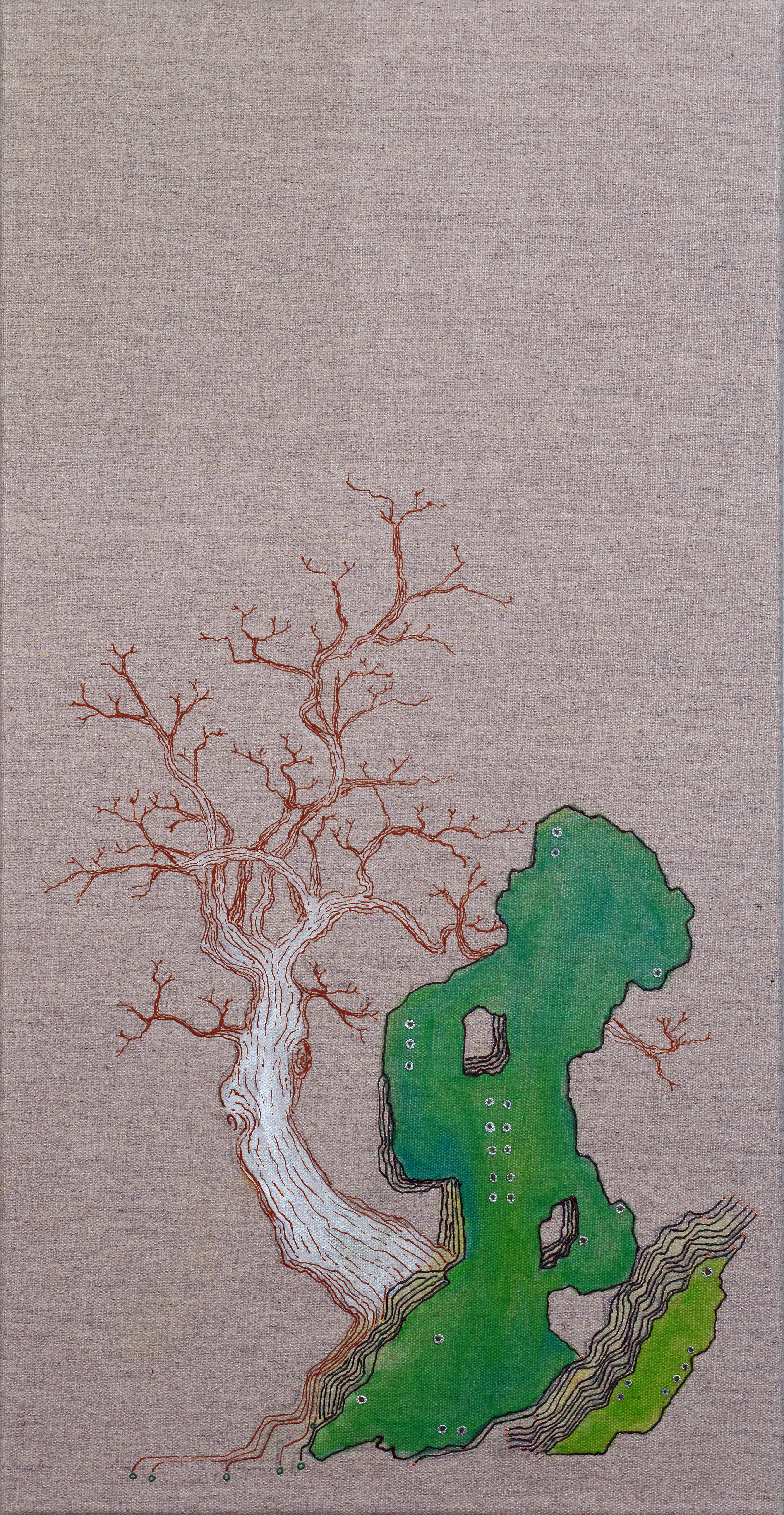 林石 Rock Tree III