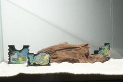 魚缸外的世界 Fish Tank (detail)