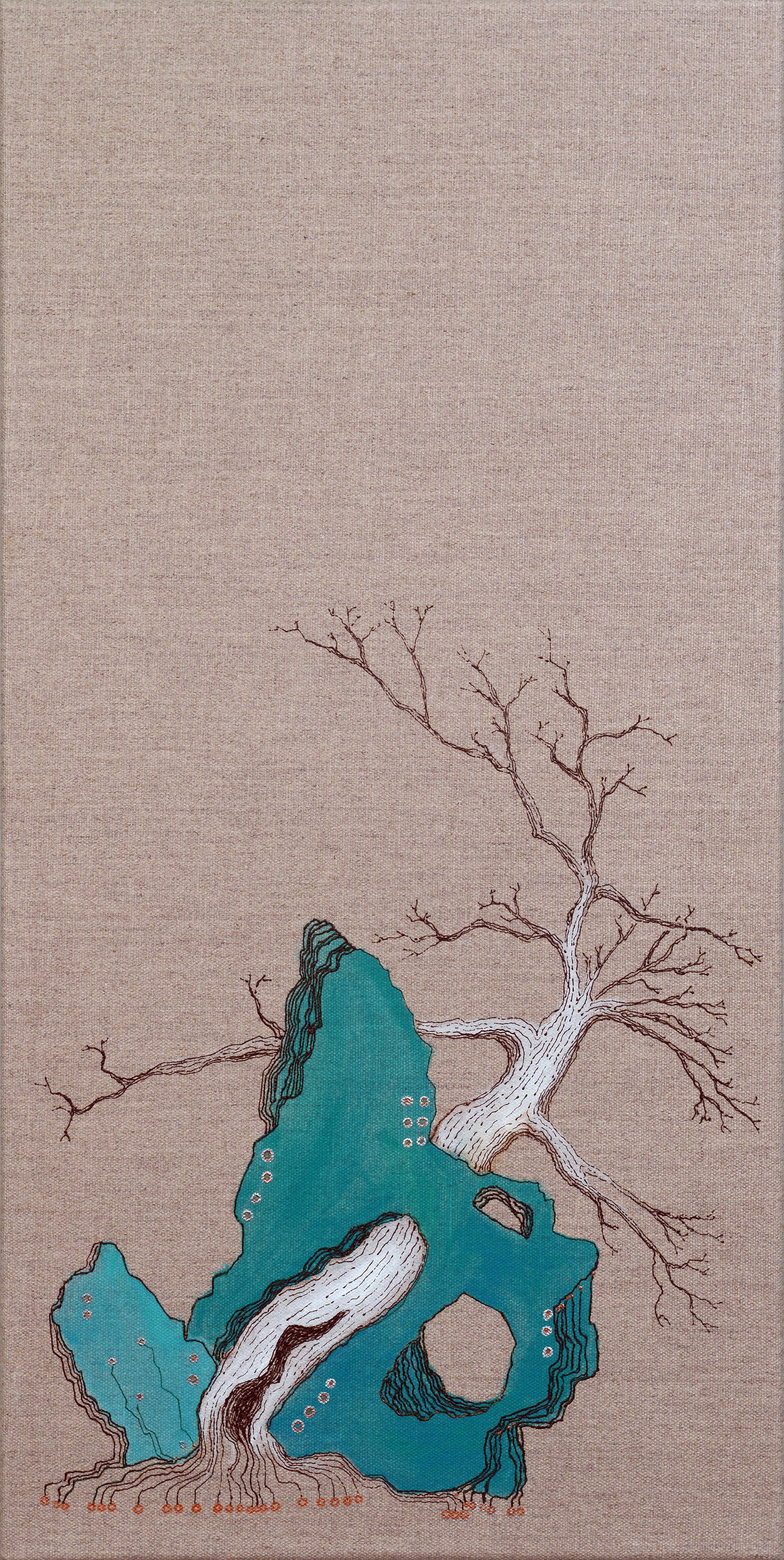 林石 Rock Tree I