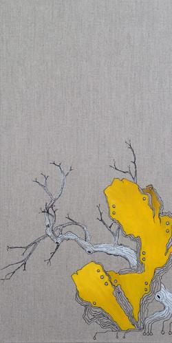 林石 Rock Tree IV