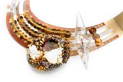 Goldwork jewellery