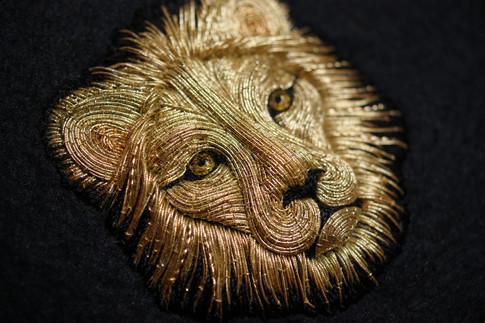 Goldwork Lion