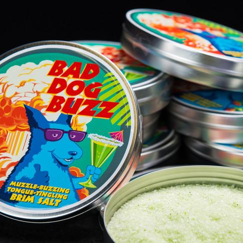 Bad Dog Buzz cocktail rim salts