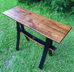 Sofa Table (Barrel Base)