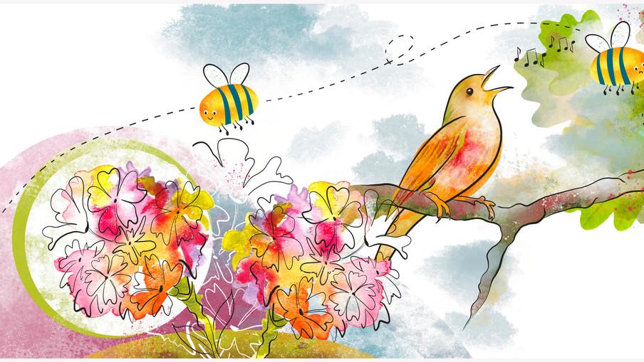 Keep Believing book illustration #3-4