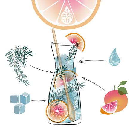 The Grapefruit and Rosemary Furlough Fix