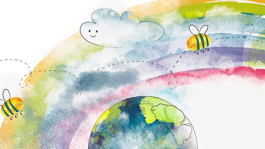 Keep Believing book illustration #7-8