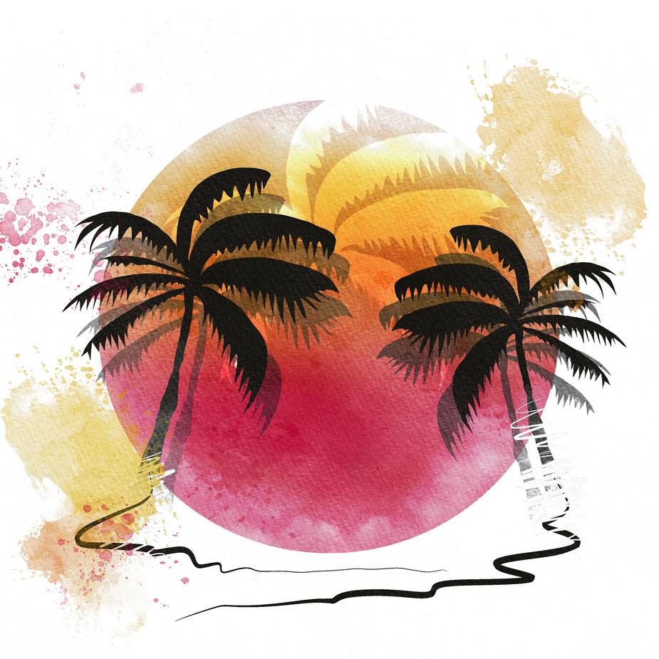Tropical Vacation Moon