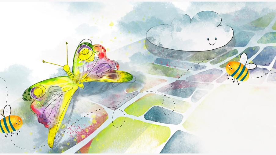 Keep Believing book illustration #5-6