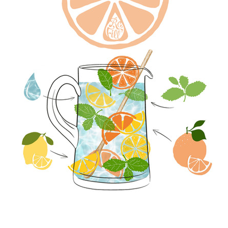 The Stay At Home Citrus Swizzle