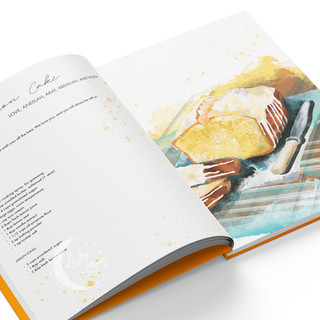 Tanzanian recipe book presentation