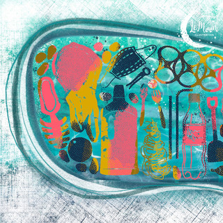 Plasticarium - Silentbook design, 2021