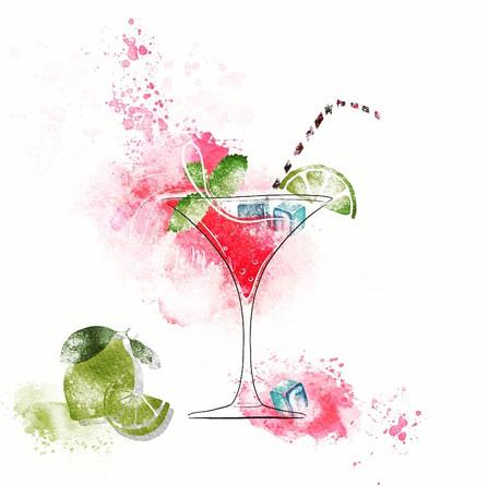 Velvet Mojito cocktail