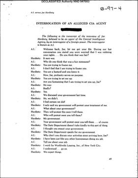 Interrogation Transcript