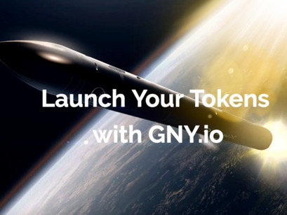 Launch Your Own Crypto-Tokens With GNY