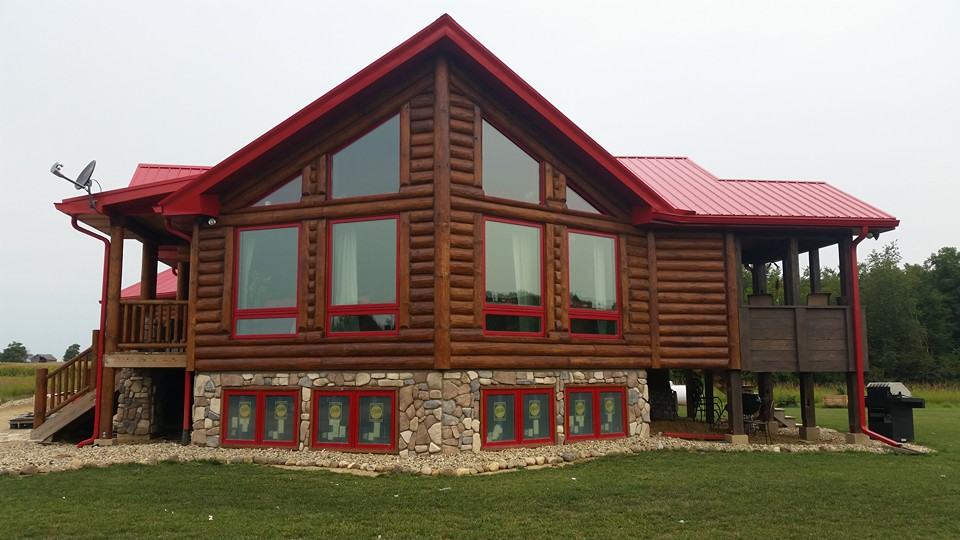 Log Homes and Cabins Illinois - Aurbeck