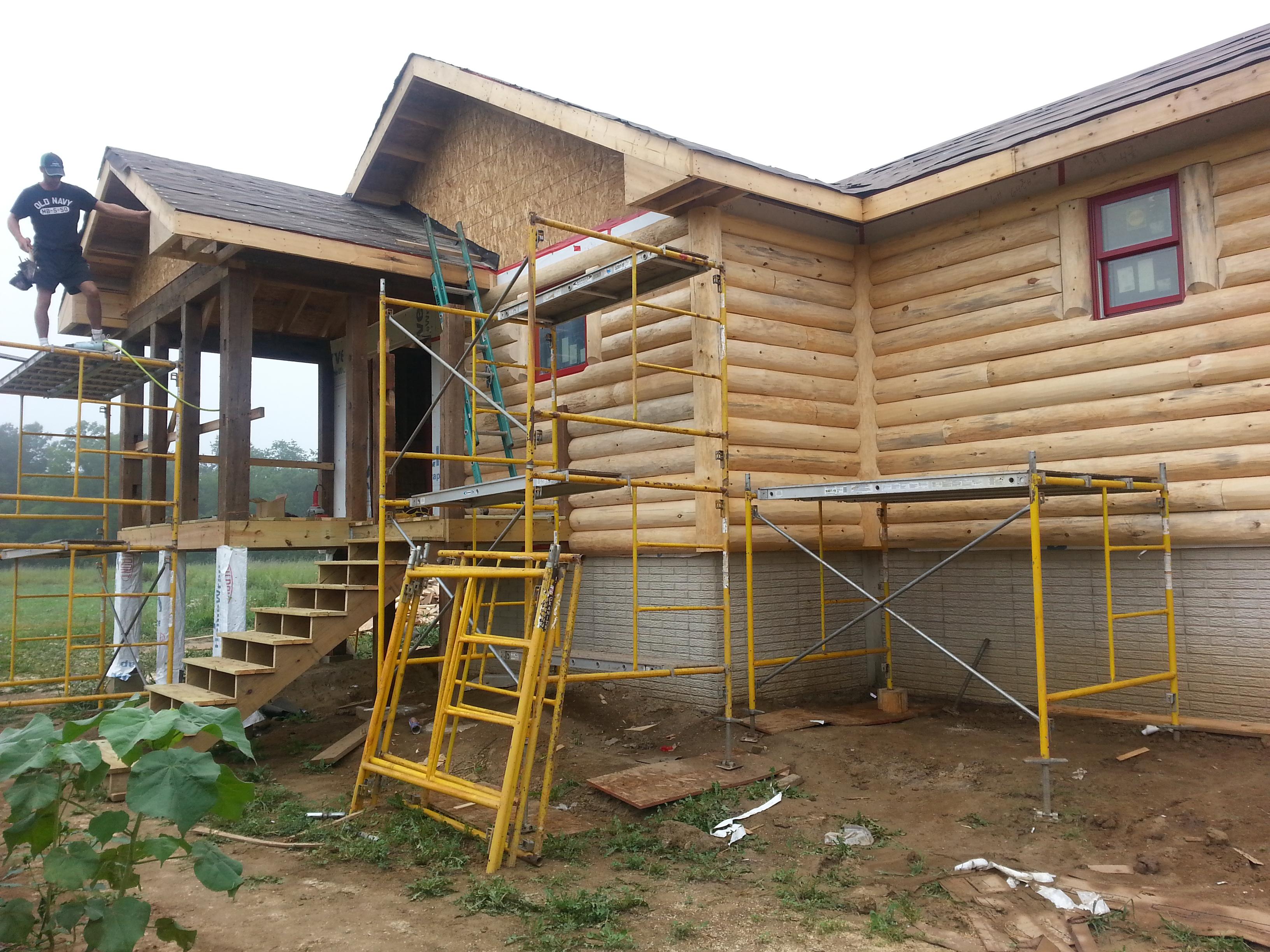 Barn Wood Screen Porch