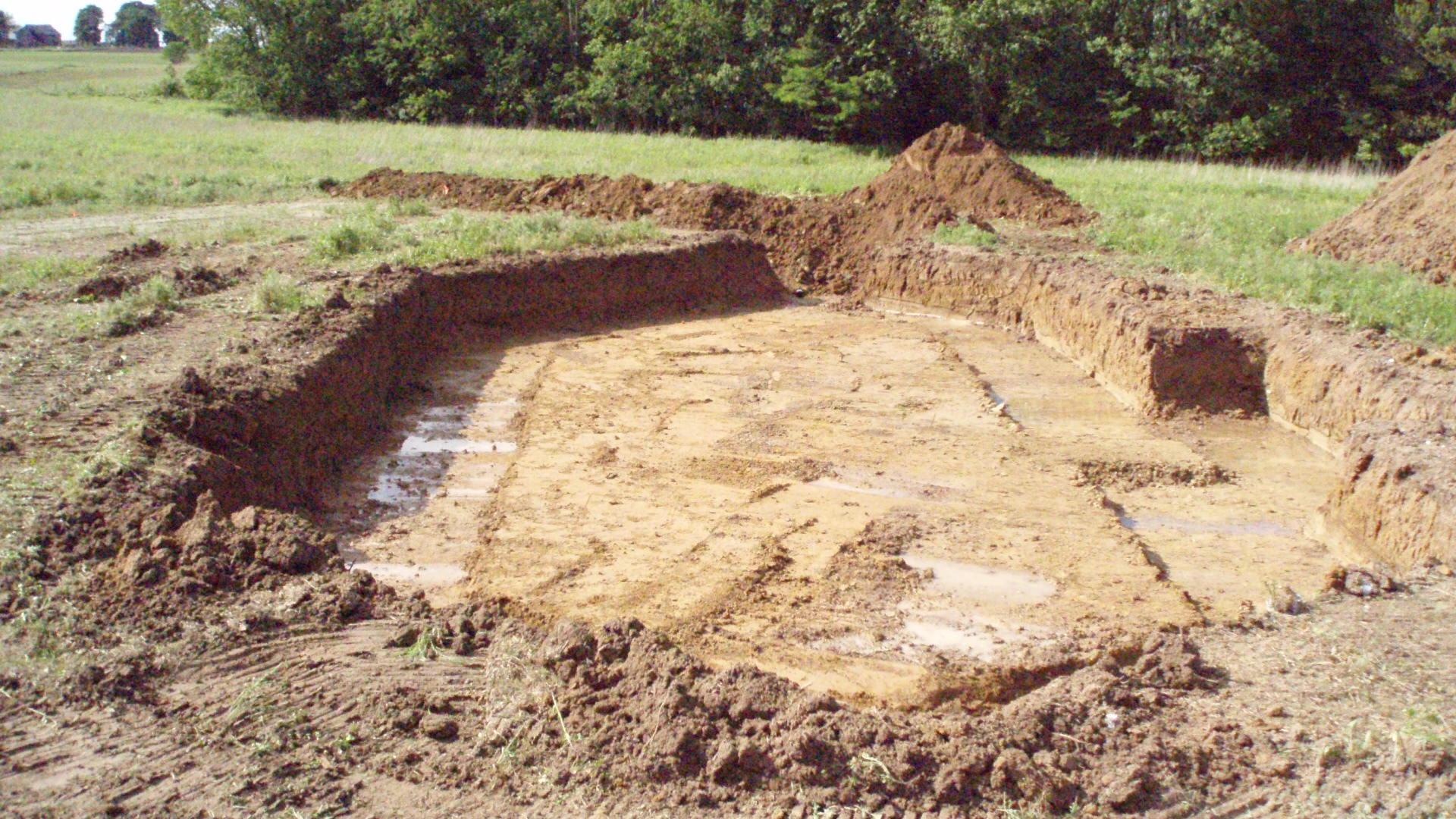 The Hole is Dug
