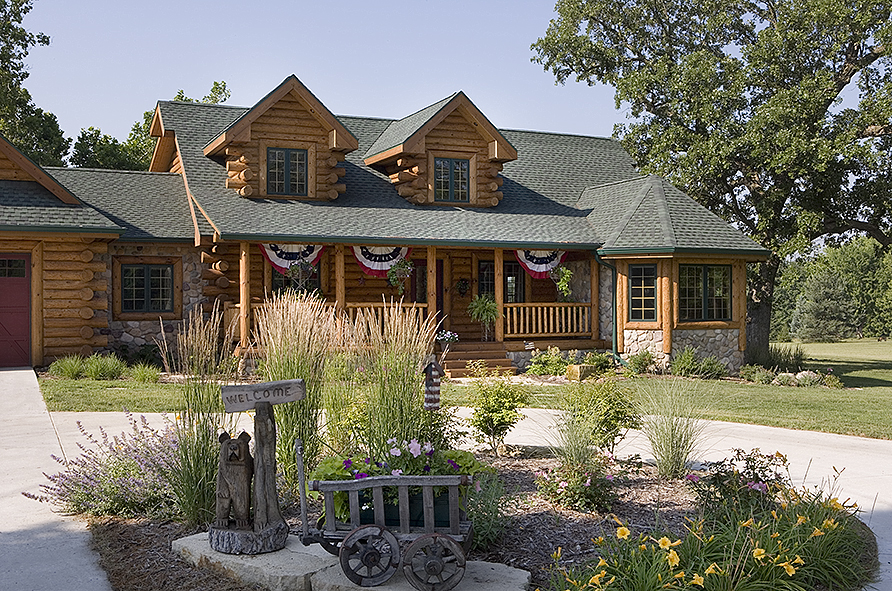 Log Homes in Illinois