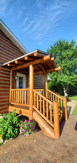 Log Transformation - Porch Addition