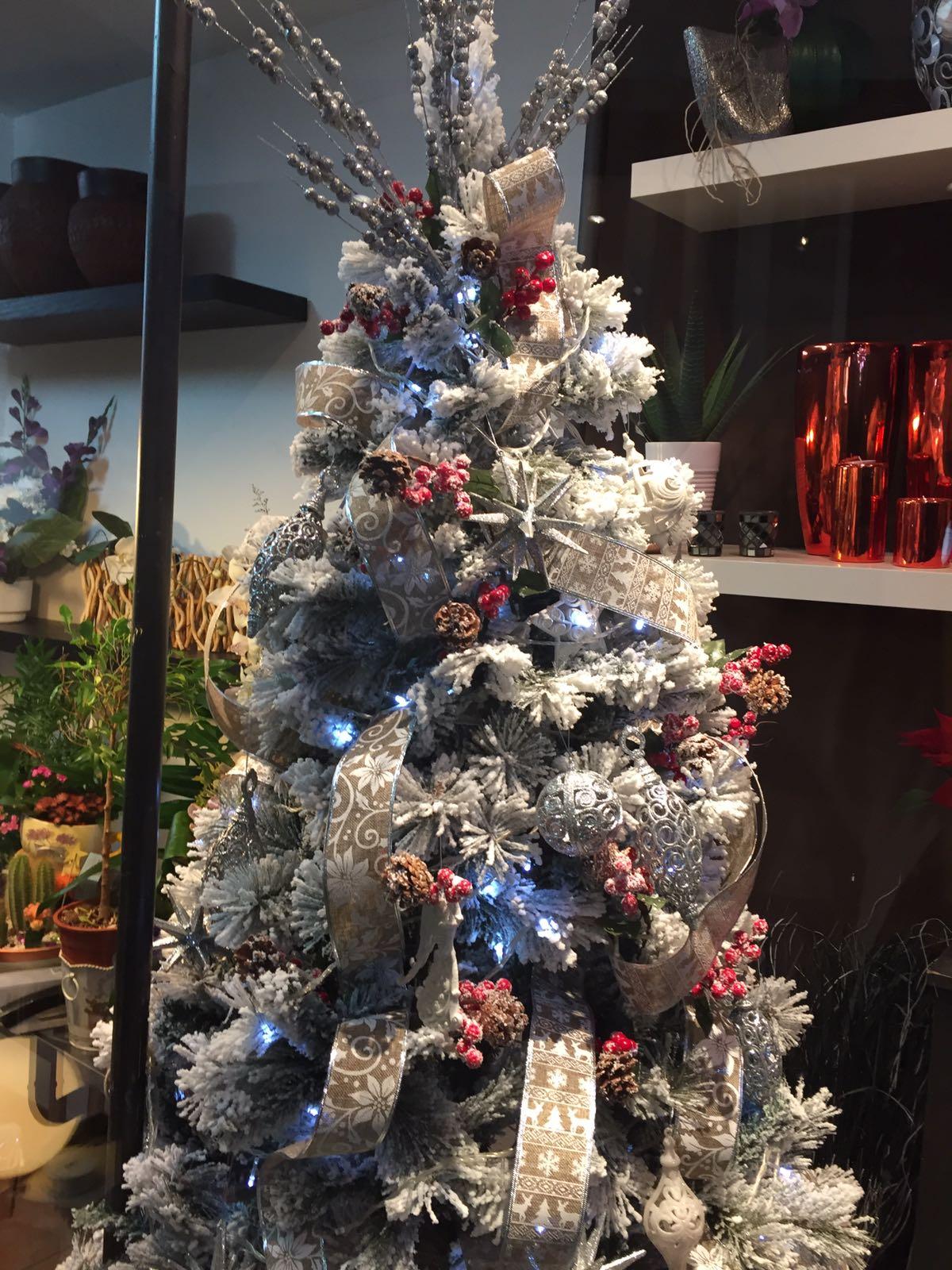 Arbol de Navidad Flores Navalcarnero
