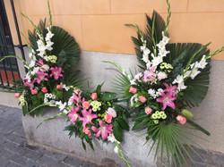 Flores Navalcarnero centro iglesia