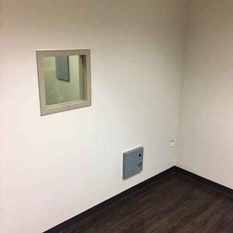X-Ray Room Wall Construction