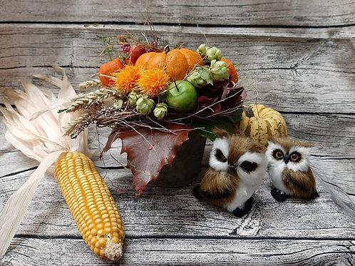 Herbstliches Gesteck