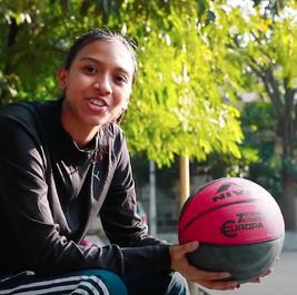 Ms. Lisa Deb, an 18-year old basketball player