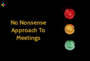 No Nonsense Approach To Meetings