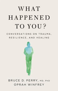 The book is a powerful primer on trauma and healing.