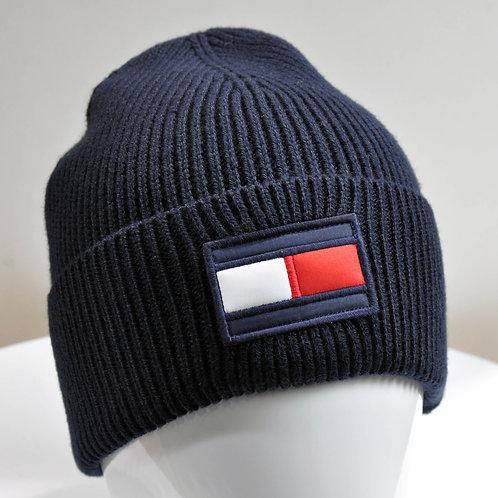 BIG FLAG BEANIE bonnet THilfiger coton acrylique