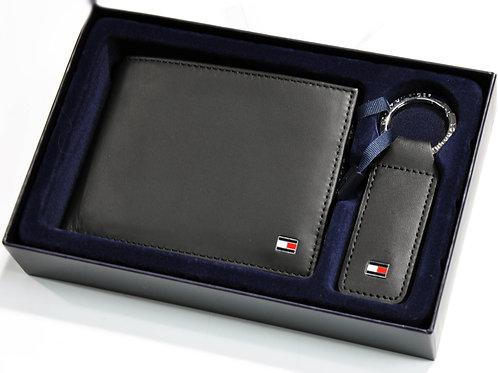 ETON CC  AND COIN 30378  coffret portefeuille + porteclef cuir